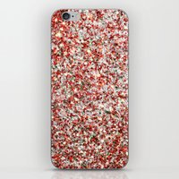 sparkles iPhone & iPod Skins featuring Sparkles by Sharon Johnstone