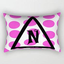 Delta Nu Rectangular Pillow