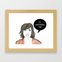 Wackadoodle Framed Art Print