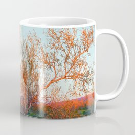 Dawn's First Light at Joshua Tree National Park Coffee Mug