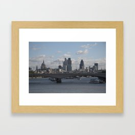 London Framed Art Print