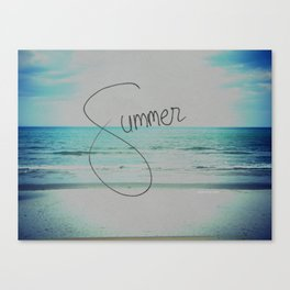 forever summer Canvas Print