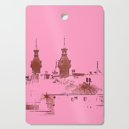University of Tampa -- Pink Cutting Board