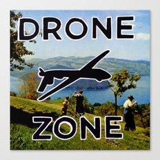 Drone Zone Canvas Print