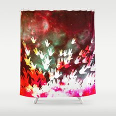 H.E.L.L.O. Shower Curtain