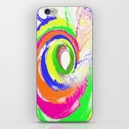 Whirlpool of Colour iPhone Skin