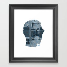 Poster Face #1 Framed Art Print