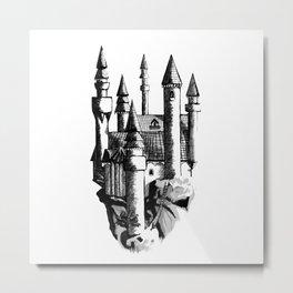 Sky Castle Metal Print