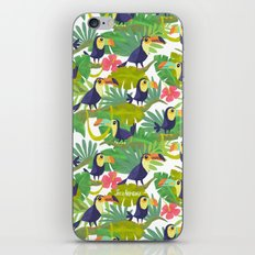 Toucan Paradise Pattern iPhone & iPod Skin