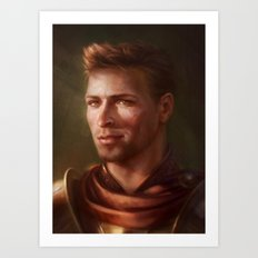 King Alistair Art Print