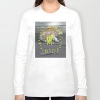 nope Long Sleeve T-shirts featuring Nope. by ma93