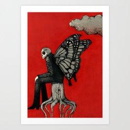Dark Cloud. Art Print