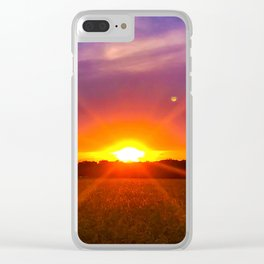 The Sun, Moon and Stars Clear iPhone Case