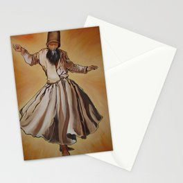 Semasen - Sufi Whirling Dervish Stationery Cards