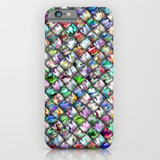 Patchwork Rainbow Slim Case iPhone 6s