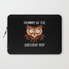 Mom Birthday Boy Laptop Sleeve