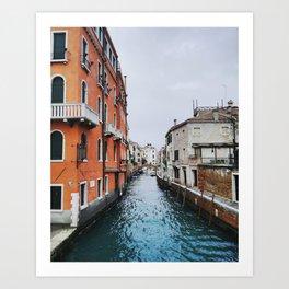 Venice - Zattere Art Print