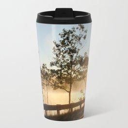 Sunrise over the lake Travel Mug