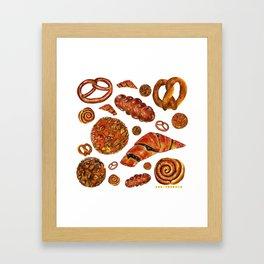 Bakery Dream Shop Framed Art Print