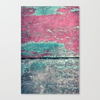 friday Canvas Prints featuring friday by Claudia Drossert