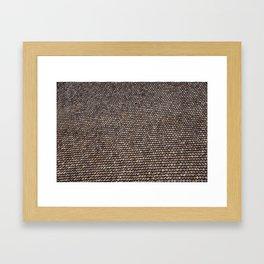 Roof pattern Framed Art Print