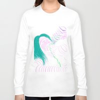 drunk Long Sleeve T-shirts featuring DRUNK by VIGGGAR