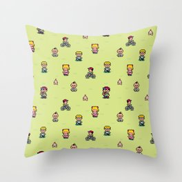 Earthbound - Mother 2 Throw Pillow
