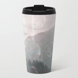 Dreamy Outdoor Mountain Landscape Travel Mug