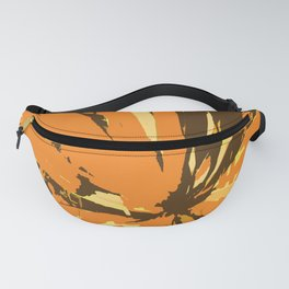 Orange Bromeliad Fanny Pack