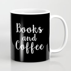 Books and Coffee - Inverted Mug