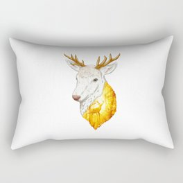 Enchanted Stag Rectangular Pillow