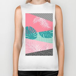 Palm Springs #society6 #decor #buyart Biker Tank