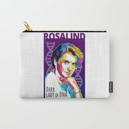 Rosalind Franklin Carry-All Pouch