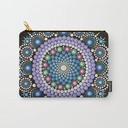 Dot Art Mandala Carry-All Pouch