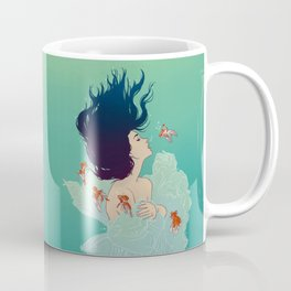 Underwater Lady Coffee Mug