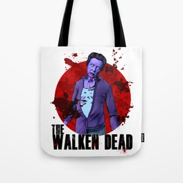 The Walken Dead – The Walking Dead Parody – Christopher Walken Zombie Tote Bag