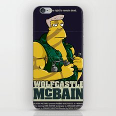 McBain iPhone & iPod Skin