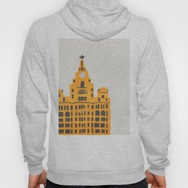 Liver Building Liverpool Hoody