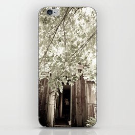 Nature leaves nothing untouched iPhone Skin