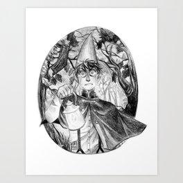 Lost Wirt Art Print
