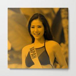 Hoa Phong Lan - Celebrity Metal Print