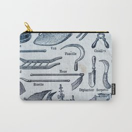 French Farm Tools Carry-All Pouch