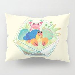 Ocean terrarium - Boxer crab, hermit crab Pillow Sham