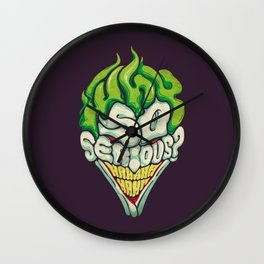 Joker / Why So Serious Wall Clock