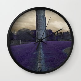 Eglinton Ruins Kilwinning Scotland  Wall Clock