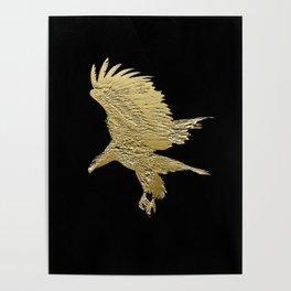 """""""Golden Boy"""" Eagle Design Poster"""