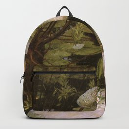 Ophelia by John William Waterhouse Backpack
