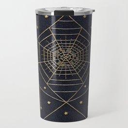 Spider Silk Stars Book Travel Mug