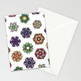 Swirls 0-9 Stationery Cards