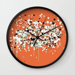 spheres 2 Wall Clock